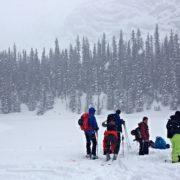 Kananaskis backcountry skiing