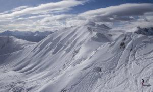 Amazing skiing at Lake Louise