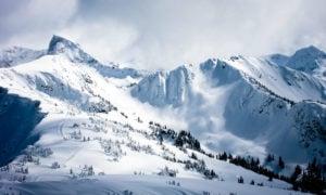 Shreddable powder for skiing in Revelstoke