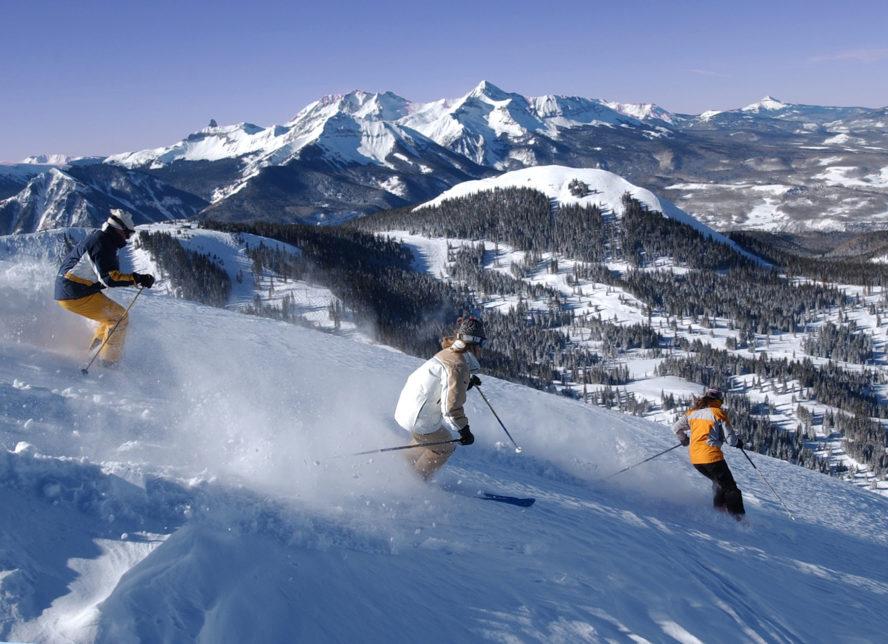Rocky Mountain Backcountry skiing