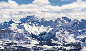 Sunshine sunny backcountry ski mountain shot weather