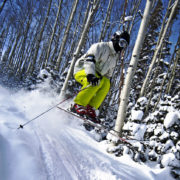 backcountry skiing wasatch mountains