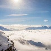 Amazing skiing in Verbier