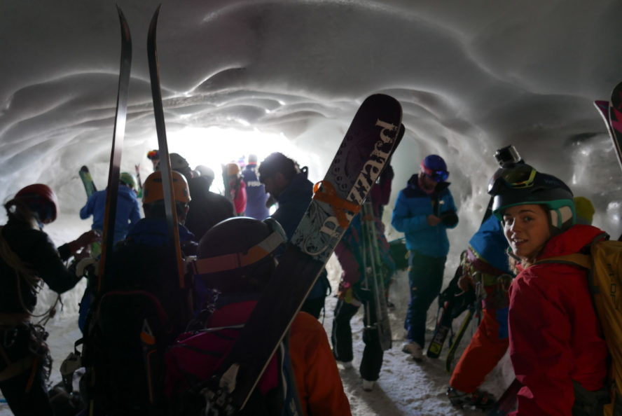 Ice cave in Cham