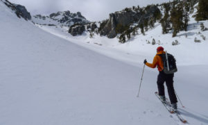 Ascent in Mammoth