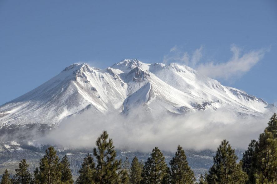 Mount Shasta backcountry skiing