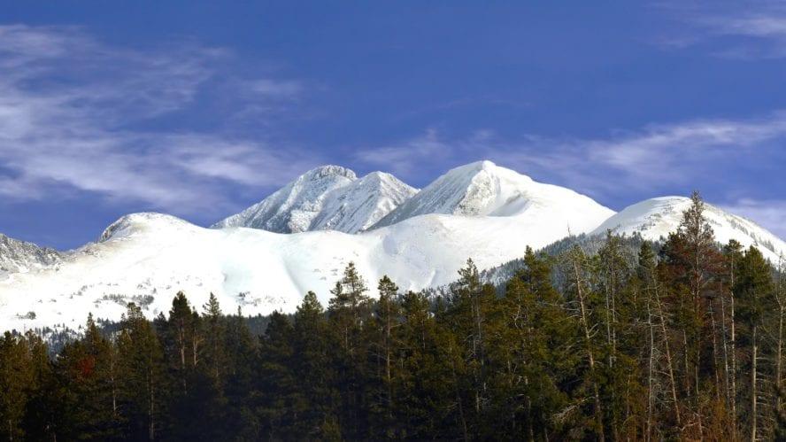 Cameron Pass mountain