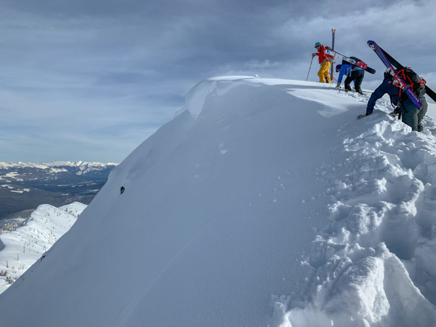 Revelstoke ski mountaineering