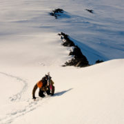 Summiting in Antarctica
