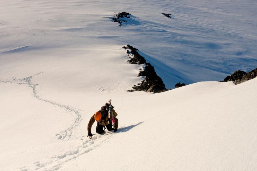 Summiting in Antarctica
