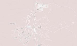 Breckenridge area map