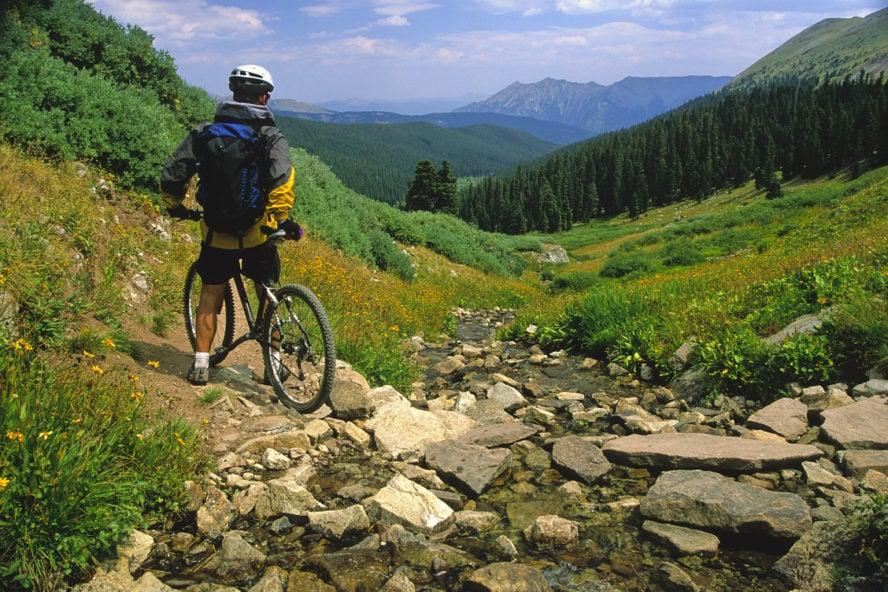 Breckenridge mountain biking trails