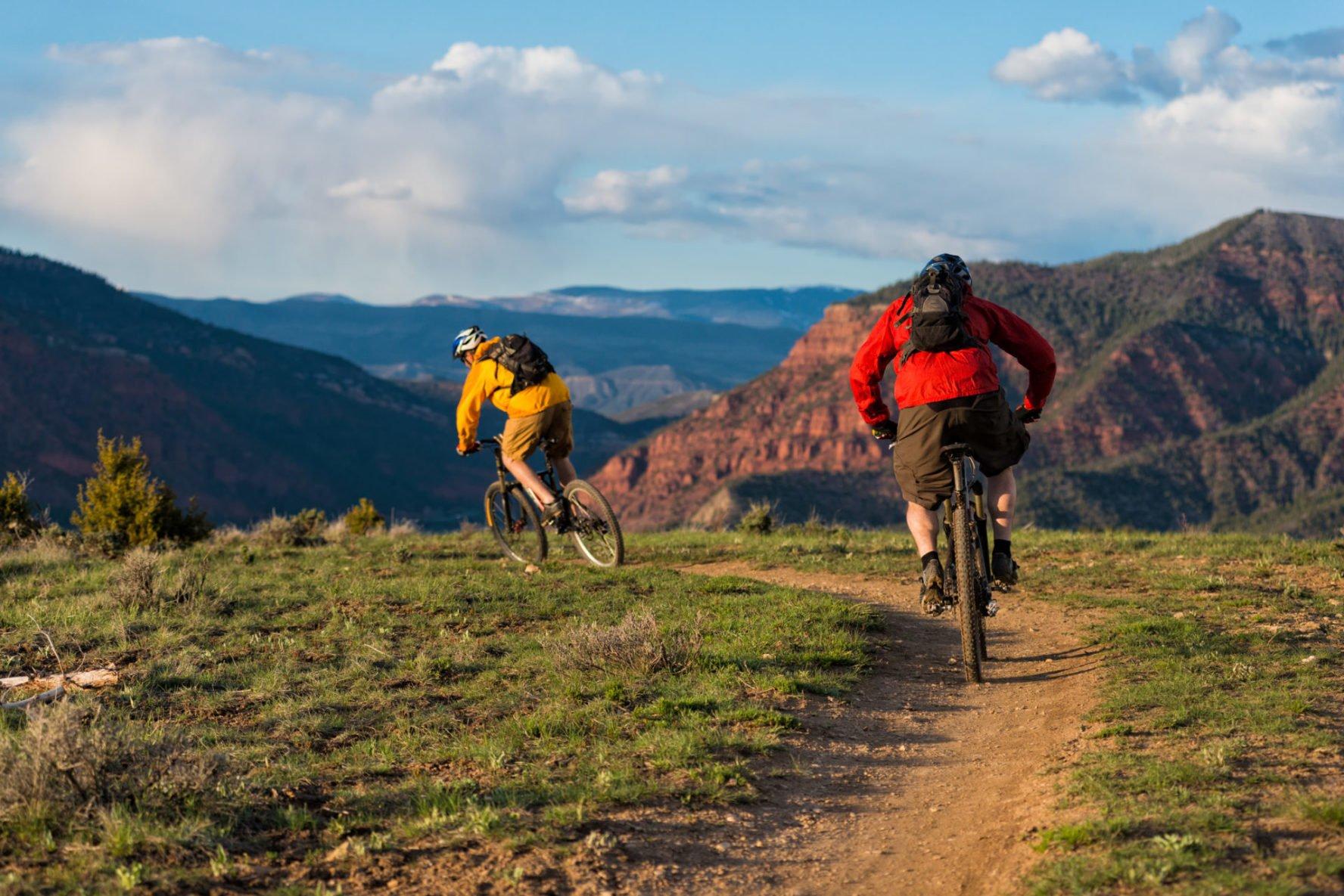 Singletrack mountain biking in Colorado