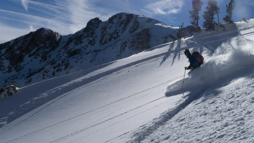 If you're looking for lift-accessed backcountry skiing, look no further than June Mountain.