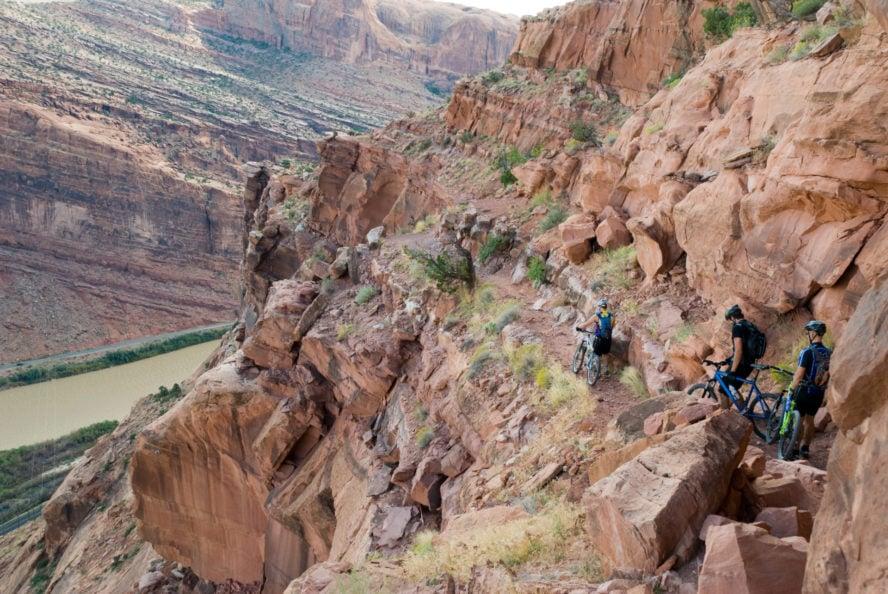 mountain biking trails in Utah