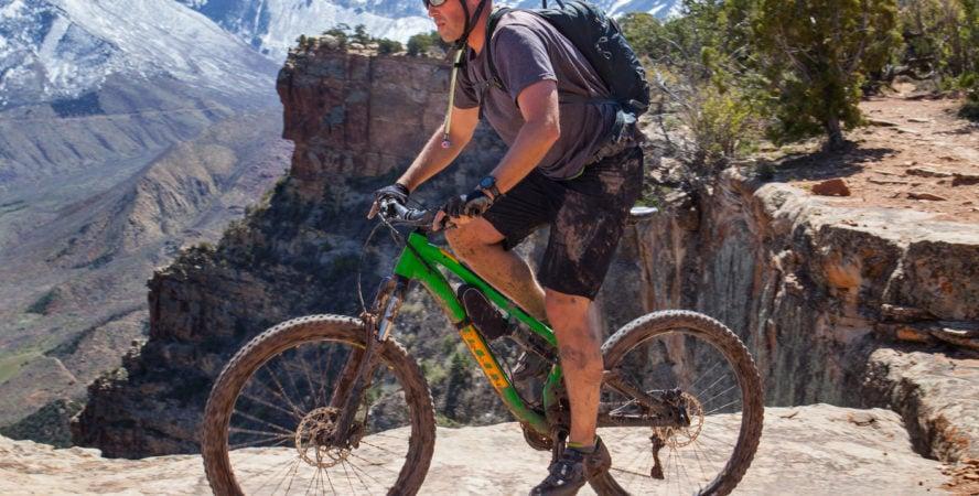Mountain biking Porcupine