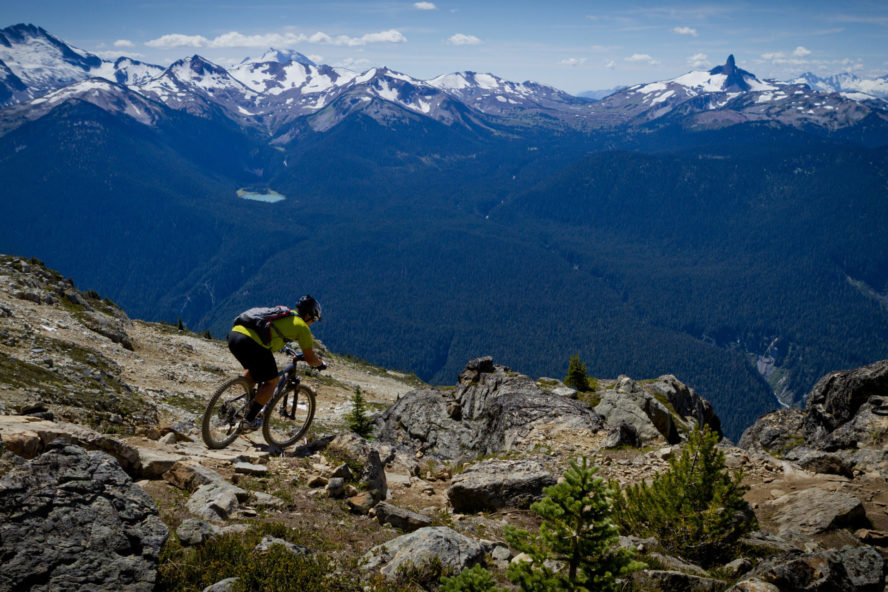 mountain biking whistler