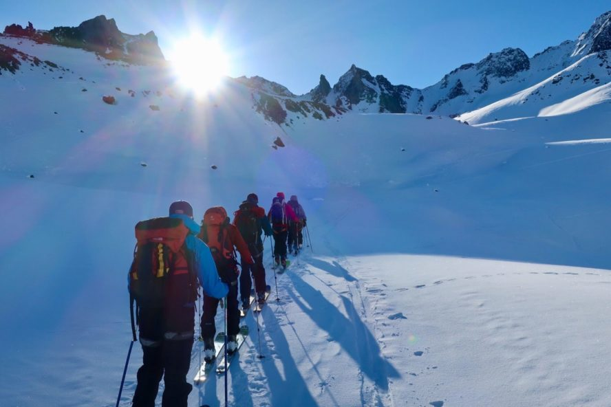 Fairy Meadows guided skiing