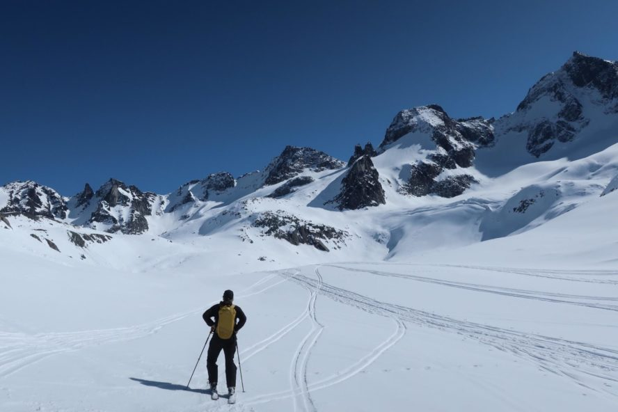 Fairy Meadows skiing