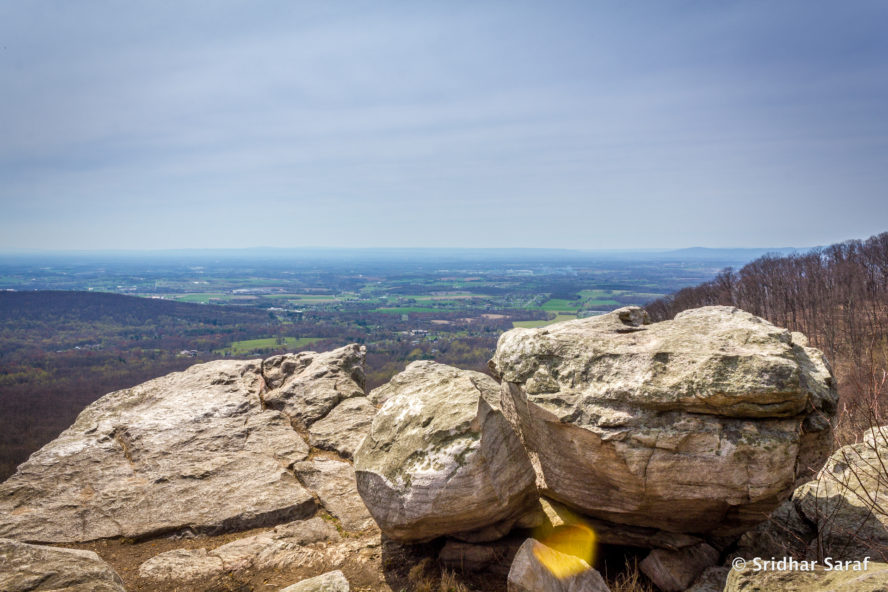 annapolis rock hiking