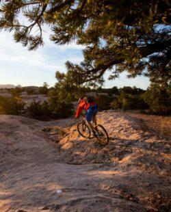 Mountain biking gooseberry mesa hurricane rim