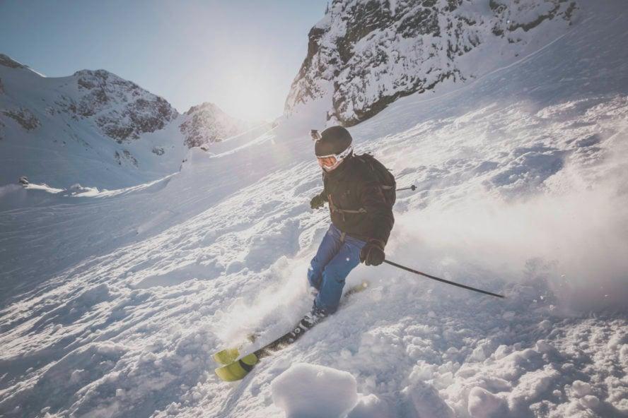 backcountry skiing in Whistler