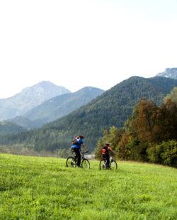 Mountain biking in Europe