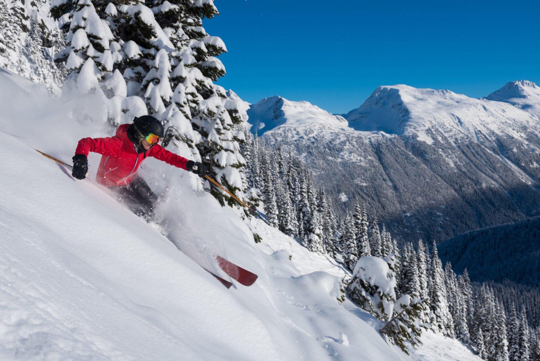 Whistler Blackcomb skiing