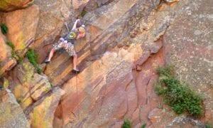 Eldorado Canyon State Park Climbing