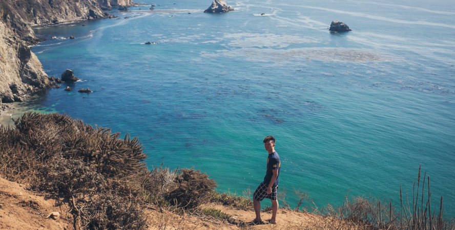 Hiking at Big Sur