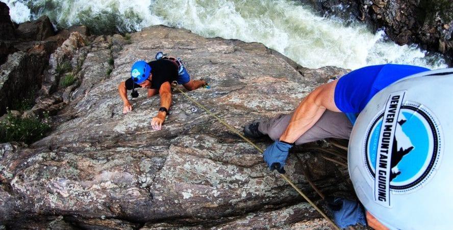 Clear Creek Canyon climbing