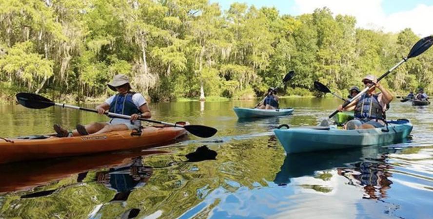 Gum Slough kayaking