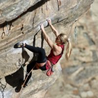 Mighty Dog 5.12c in Clear Creek Canyon