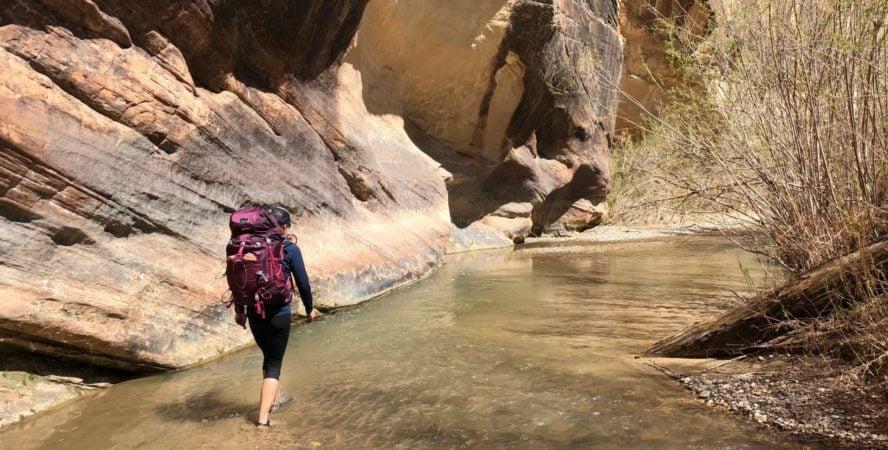 Escalante National Park Hiking