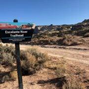 Escalante hiking trails