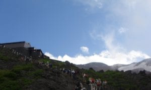 Mt Fuji hiking