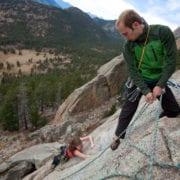 Rocky Mountain Colorado climbing