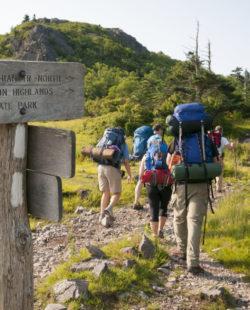 Applachian Trail hiking