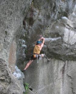 rock climbing in rumney