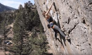 Climbing at eldo