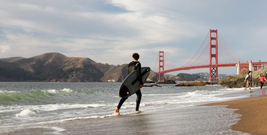 Baker Beach in San Francisco, California