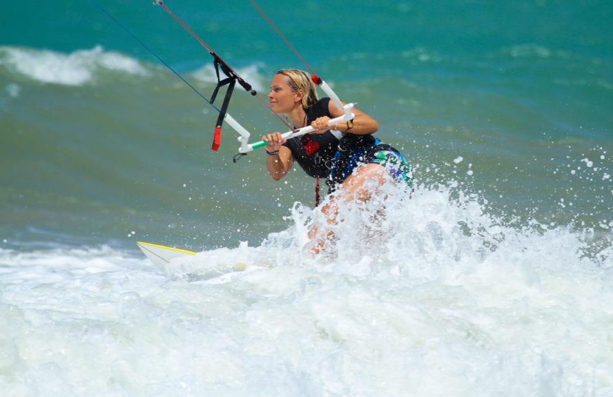 Kitesurfing in Cabarete