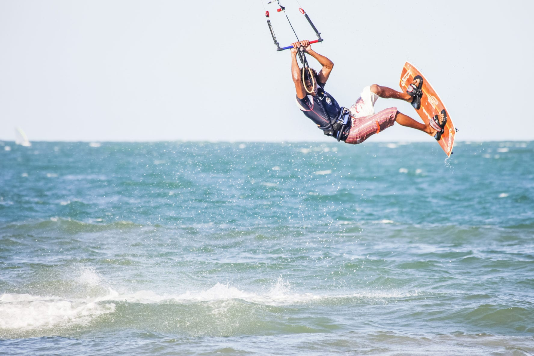 Kitesurfing in Cabarete, Dominican Republic