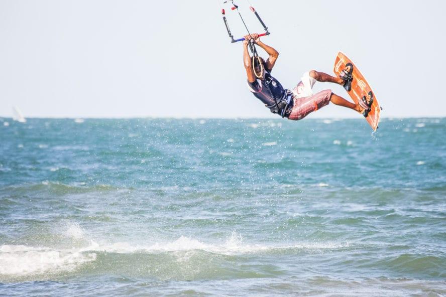 Kitesurfing in Cabarete, Dominican Republic