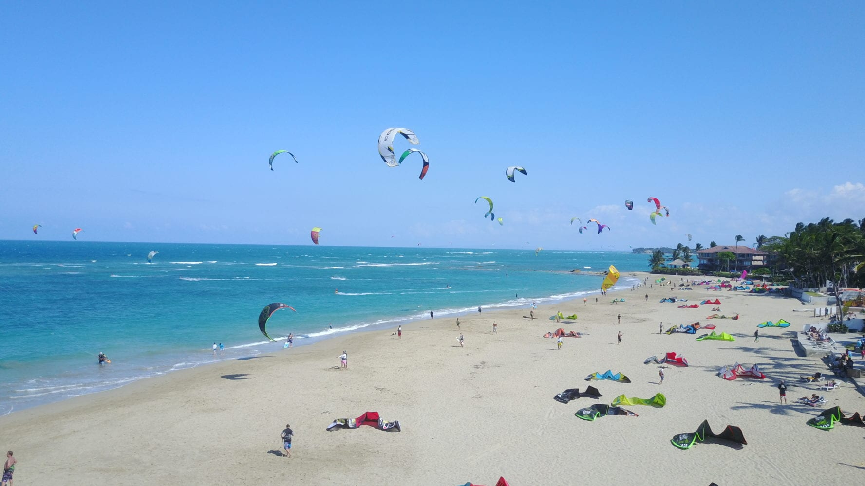 Kitesurfing in Dominican Republic