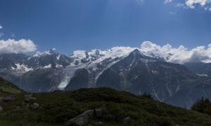 Mont Blan hiking