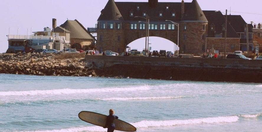 Narragansett surfing