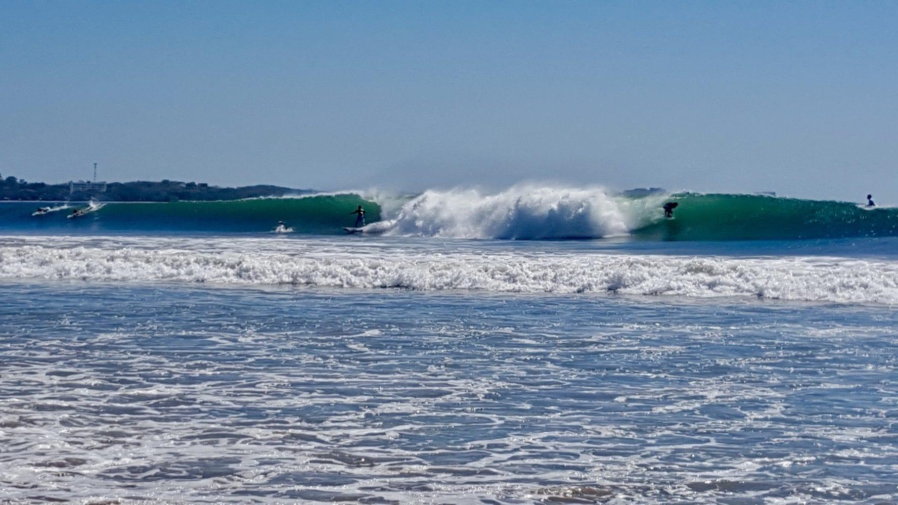 Playa Grande surfers
