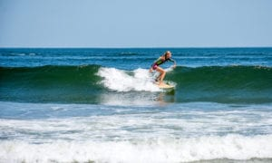 Summer surfing at New Jersey