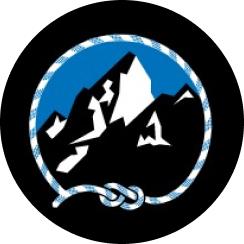 The mountain guides logo